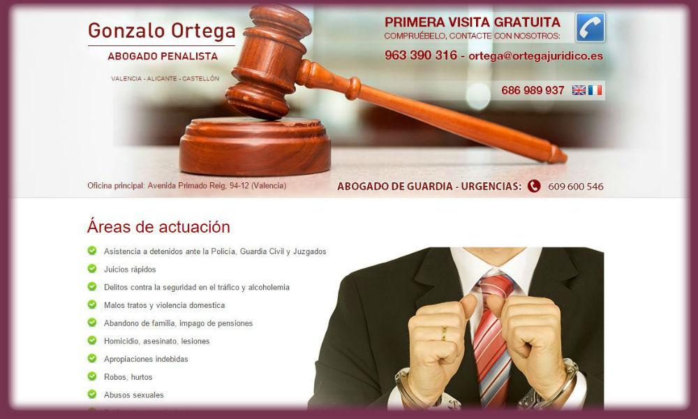 Dise O Web Para Abogados En Madrid